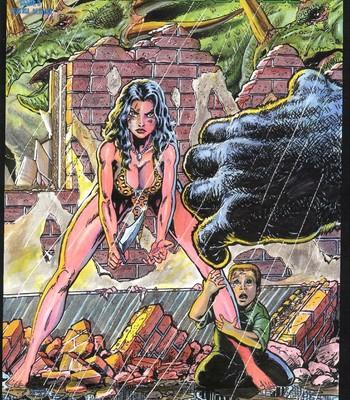 Porn Comics - Cavewoman – Rain 5