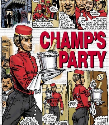 Porn Comics - Champ's Party