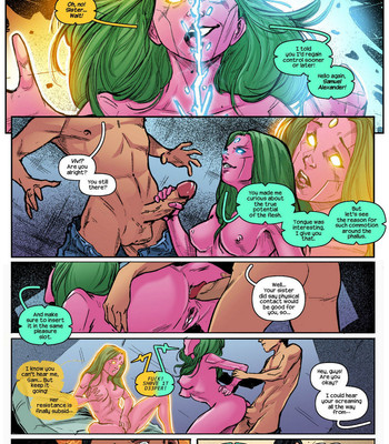 Champions comic porn sex 007