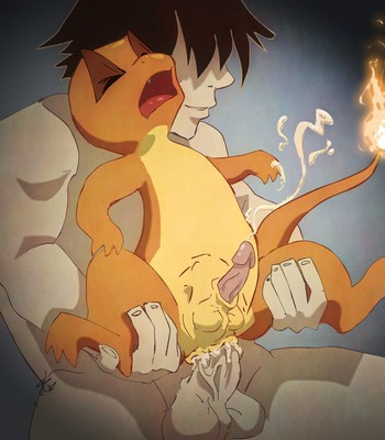Charmander's Evolution Rape comic porn sex 012