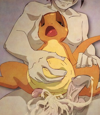 Charmander's Evolution Rape comic porn sex 015