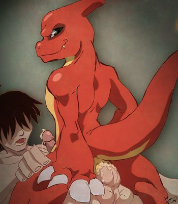 Charmander's Evolution Rape comic porn sex 023