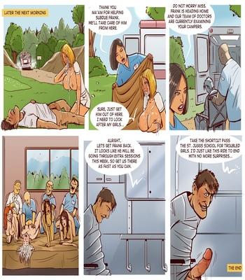 Cheerleader Camp Facefuck Massacre comic porn
