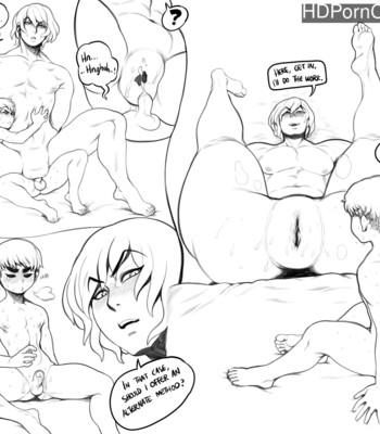 Porn Comics - Cheese And Felix – Deep Sea Dive