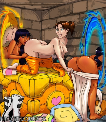 Chel-And-Chell-Play-With-Portals 3 free sex comic