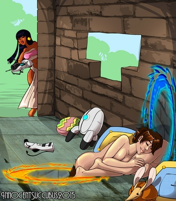 Chel-And-Chell-Play-With-Portals 7 free sex comic