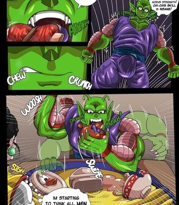 Chi Chi x Piccolo comic porn sex 004