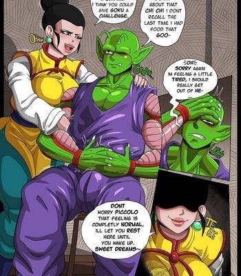 Chi Chi x Piccolo comic porn sex 005