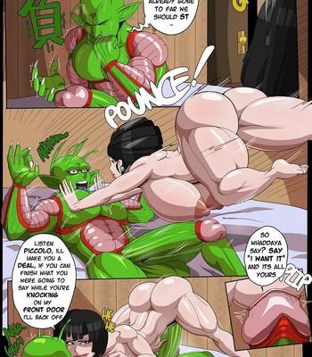 Chi Chi x Piccolo comic porn sex 013