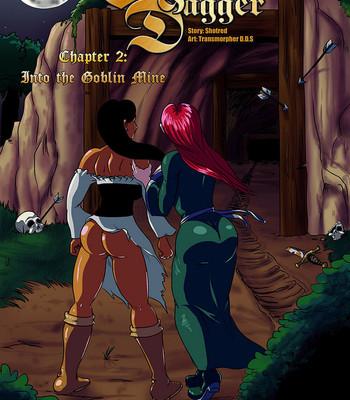 Cock And Dagger 2 – Into The Goblin Mine comic porn thumbnail 001