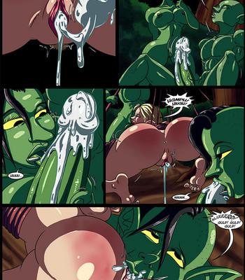 Cock And Dagger 2 – Into The Goblin Mine comic porn sex 012
