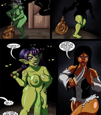 Cock And Dagger 2 – Into The Goblin Mine comic porn sex 023