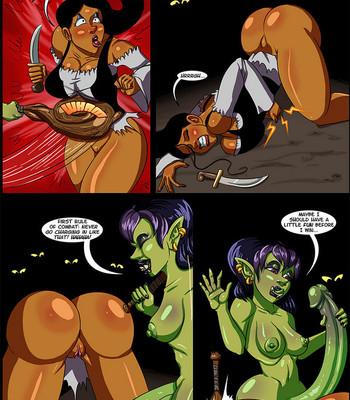 Cock And Dagger 2 – Into The Goblin Mine comic porn sex 026