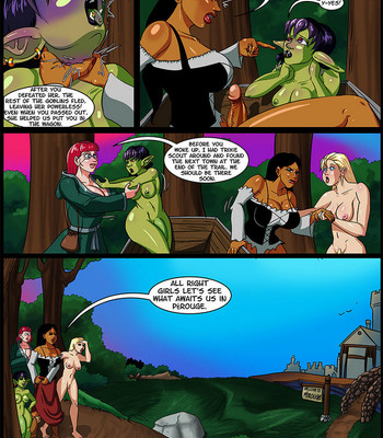 Cock And Dagger 3 – Welcome To Perouge comic porn sex 004