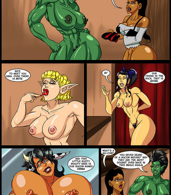 Cock And Dagger 3 – Welcome To Perouge comic porn sex 024