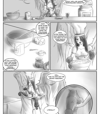 Porn Comics - Cooking With Morgana