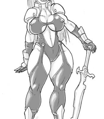 Porn Comics - Corrupted Heroine