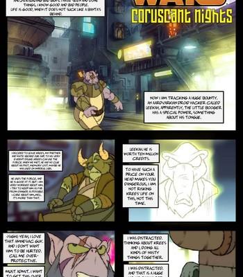 Porn Comics - Coruscant Nights