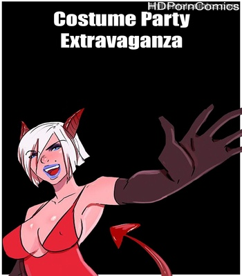 Porn Comics - Costume Party Extravaganza