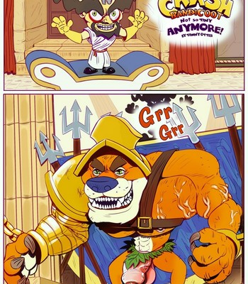 Crash Bandicoot - Not So Tiny Anymore comic porn sex 001