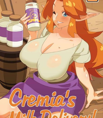 Porn Comics - Cremia's Milk Delivery!