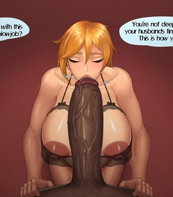 Cum Guzzler comic porn sex 009
