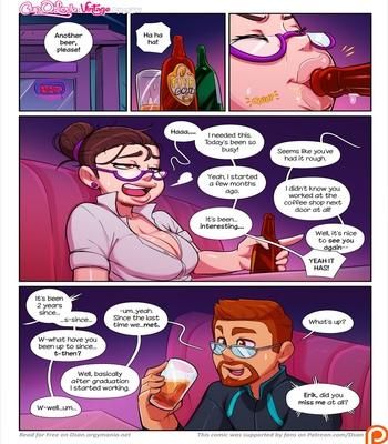 Cup O' Love – Vintage comic porn sex 004