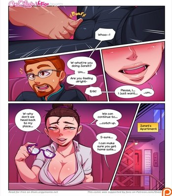 Cup O' Love – Vintage comic porn sex 006
