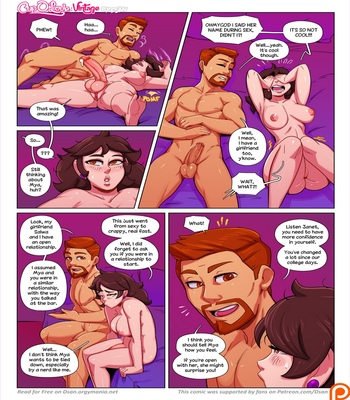 Cup O' Love – Vintage comic porn sex 025