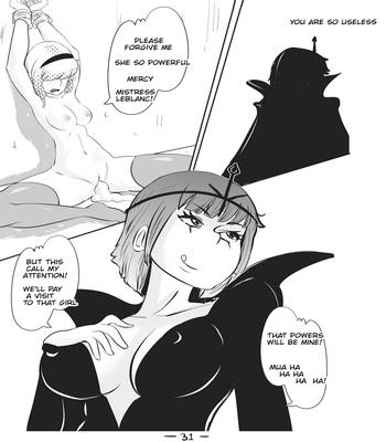 Cute Magic 3 – Leona, The Radiant Dawn comic porn