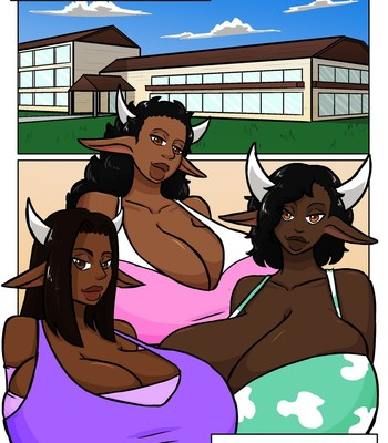 Porn Comics - Dairy Spa