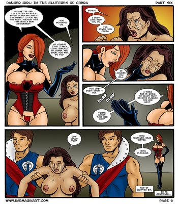 Danger-Girl-In-The-Clutches-Of-Cobra-6 6 free sex comic