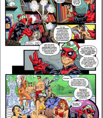 Deadpool's Days Of Swimsuits Past comic porn sex 003