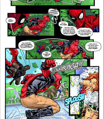 Deadpool's Days Of Swimsuits Past comic porn sex 004