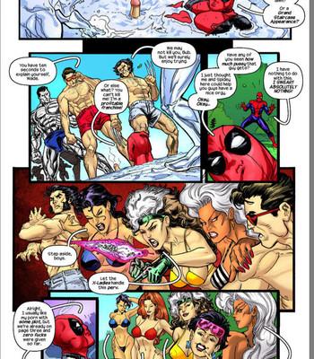 Deadpool's Days Of Swimsuits Past comic porn sex 005