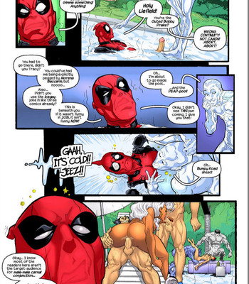 Deadpool's Days Of Swimsuits Past comic porn sex 008