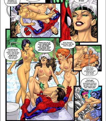 Deadpool's Days Of Swimsuits Past comic porn sex 009
