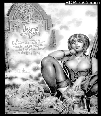 Porn Comics - Deanna Of The Dead – Night One