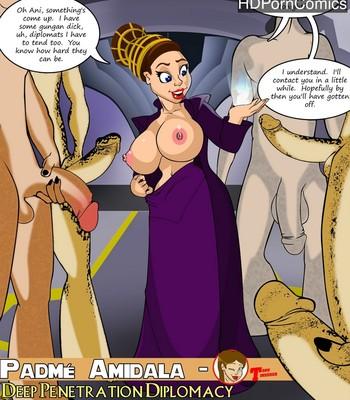 Porn Comics - Deep Penatration Diplomacy