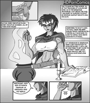 Porn Comics - Demona