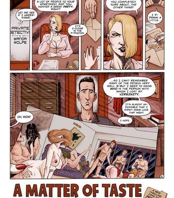Porn Comics - Detective Wanda Wolfe – A Matter Of Taste