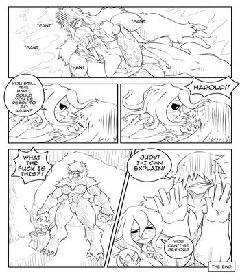 Deumos X Beast comic porn