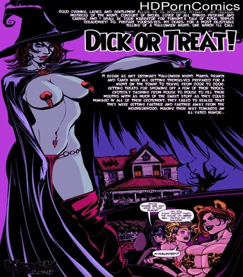Porn Comics - Dick Or Treat!