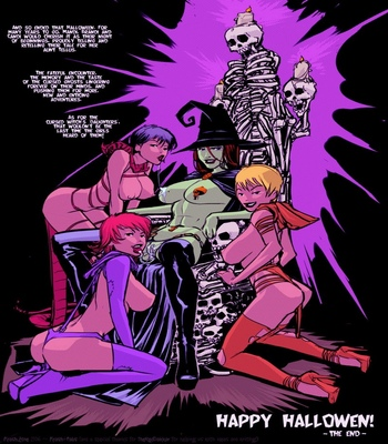 Dick Or Treat! comic porn