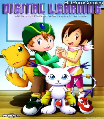 Digital Learning comic porn