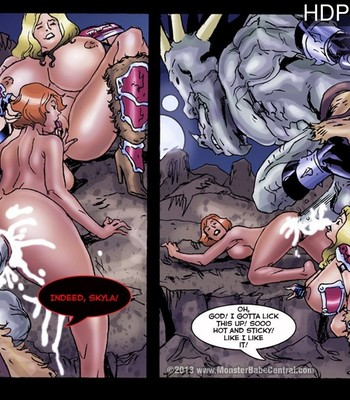 Porn Comics - Dimension Freak 3 – Captured