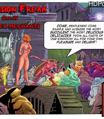 Porn Comics - Dimension Freak 4 – The Sex Mechants
