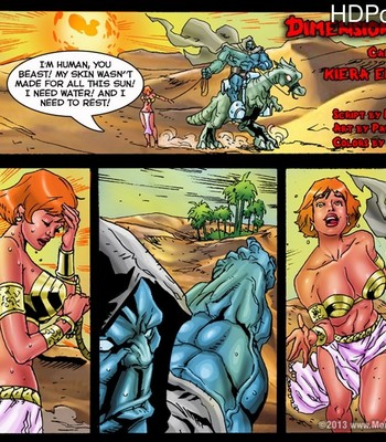 Porn Comics - Dimension Freak 5 – Kiera Enslaved