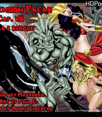 Porn Comics - Dimension Freak 7 – Skyla's Rescue