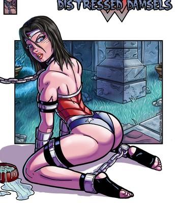 Porn Comics - Distressed Damsels 1 – Wonder Woman